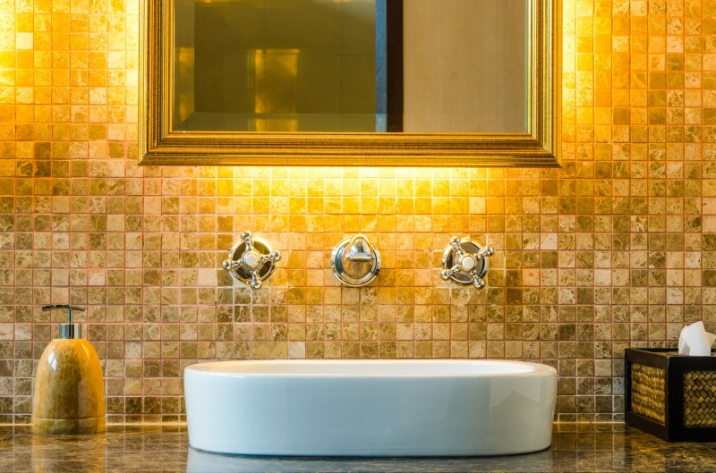Free standing bathtub by Masters Contracting Services