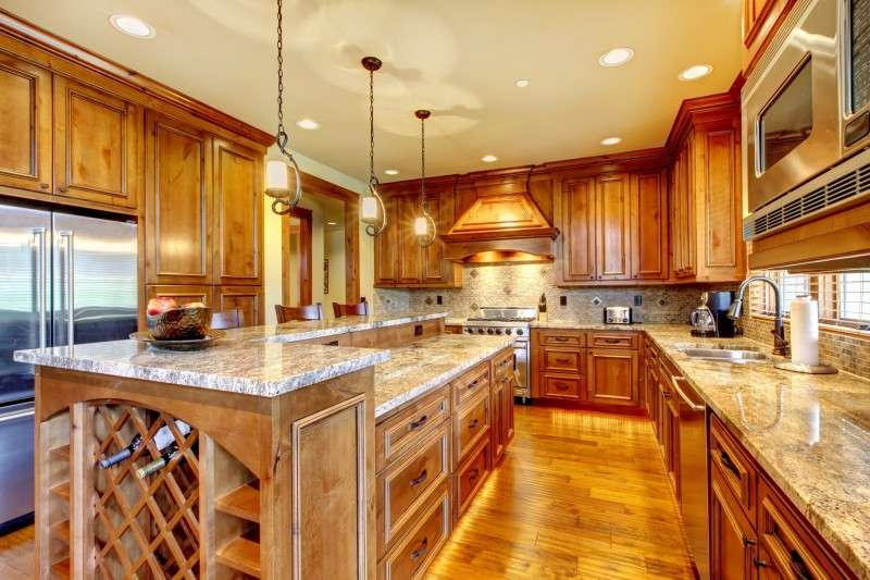 Galley kitchen by Masters Contracting Services