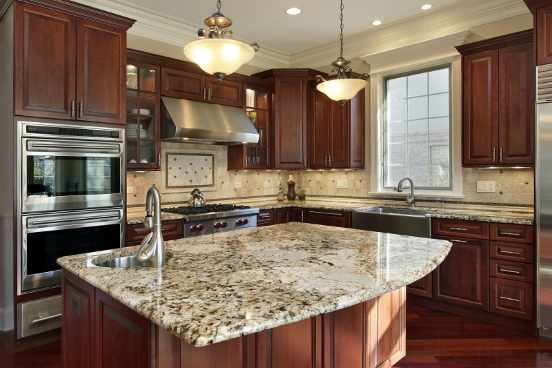 Kitchen island by Masters Contracting Services