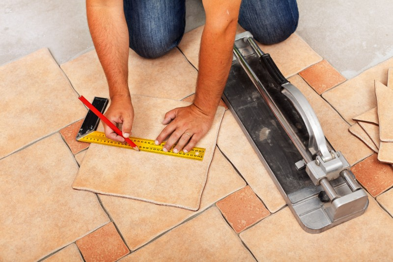 Flooring contractor by Masters Contracting Services